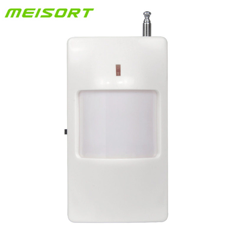 Meisort 433MHz /315MHz Optional Wireless Infrared Detector PIR Motion Sensor Detector For GSM PSTN Auto Dial Home Alarm System цены онлайн
