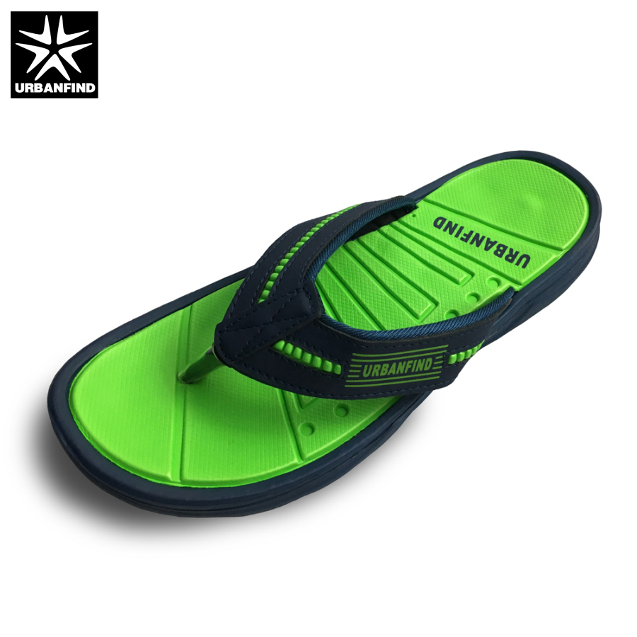 URBANFIND Men Flip Flops Casual Slippers EU Size 40-45 New Arrival Man Summer Beach Shoes Brand Fashion Footwear