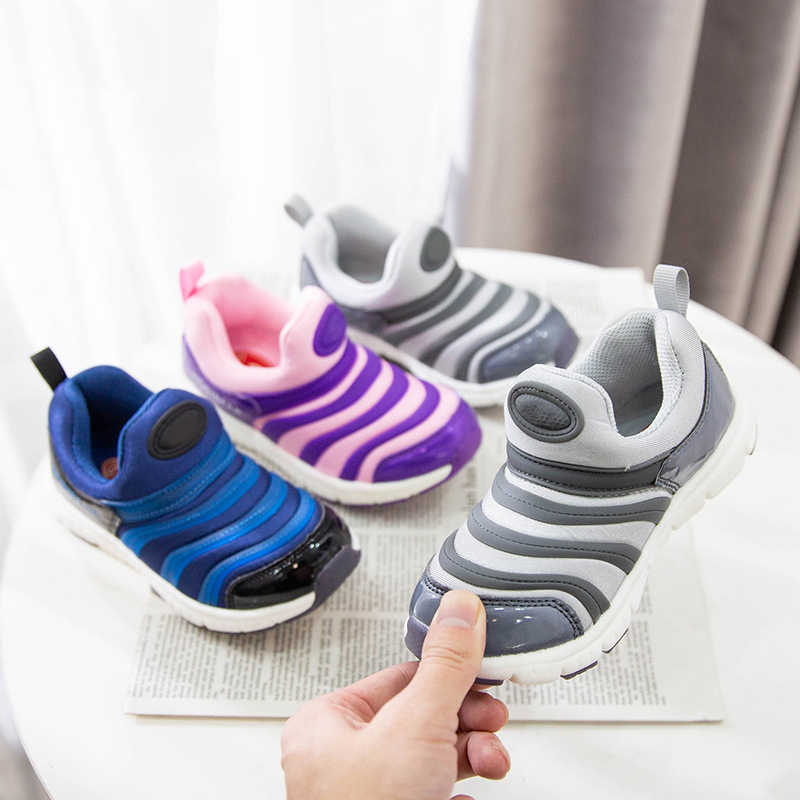 Spring CaterpillarShoes Boys girls Sneakers Girls Sport Child Casual Light Breathable Baby Boys Flats Kids Shoes
