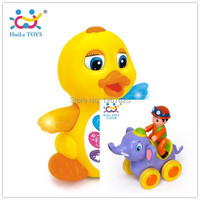 Early Training Electricos EQ Animis Duck Brinquedos Bebe Inertia Action Figures Baby Toys Free Shipping 808