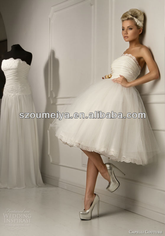 Oumeiya Omw38 Vintage 50 Or 60s Y Short Wedding Dress In Dresses From Weddings Events On Aliexpress Alibaba Group