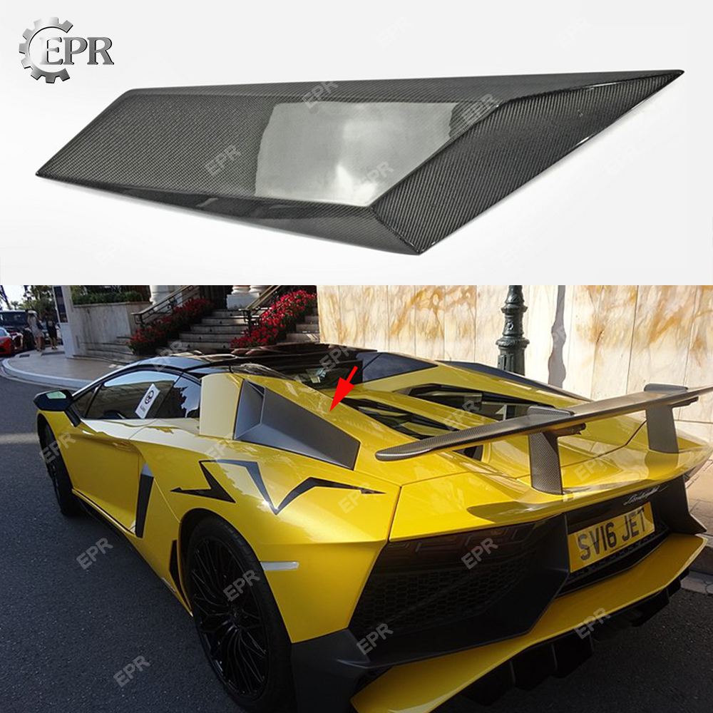 2011-2015 Aventador Carbon Side Vents Ducts Body Kit Tuning Part For Lp720 Lp700 Lp750sv Carbon Fiber Air Vent Relieving Heat And Thirst. For Lamborghini