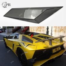For Lamborghini (2011-2015) Aventador Carbon Side Vents Ducts Body Kit Tuning Part LP720 LP700 LP750SV Fiber Air Vent