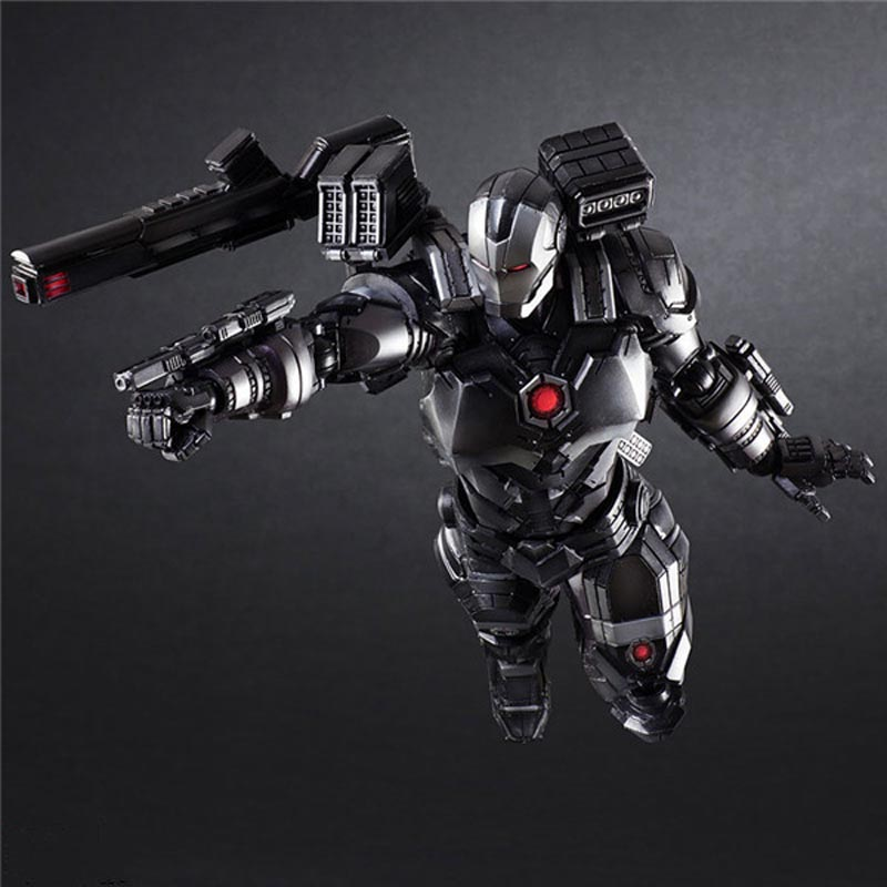 Marvel War Machine Action Figures Iron Man Series Movie Super Hero BJD Toys 25cm