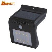 Étanche Lampe Fluorescente Mur Lampe ABS LED Capteur Lampe De Rue En Plein Air Jardin Mur LED Capteur de Lumière Lumière