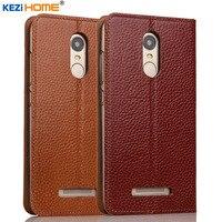 Case For Xiaomi Redmi Note 3 KEZiHOME Genuine Leather Flip Stand Leather Cover For Xiaomi Redmi