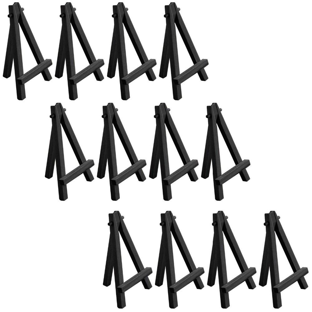 free mini wood display easel folding black mini easel - Display Easel