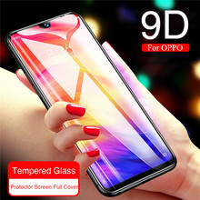 9D Tempered Glass For OPPO A3S A5 AX5 S A7 AX7 A9 Screen Protector Full Cover R15 R17 F9 F11 Pro R19 Film