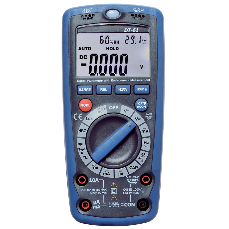 Multi-function digital multimeter environment Voltage current test DT-61 happy hop 9201p