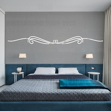 Mirror Wall Stickers Sticker Home Decor Room Decoration Kids Household Products 3D For Rooms Linear Border Frame R150