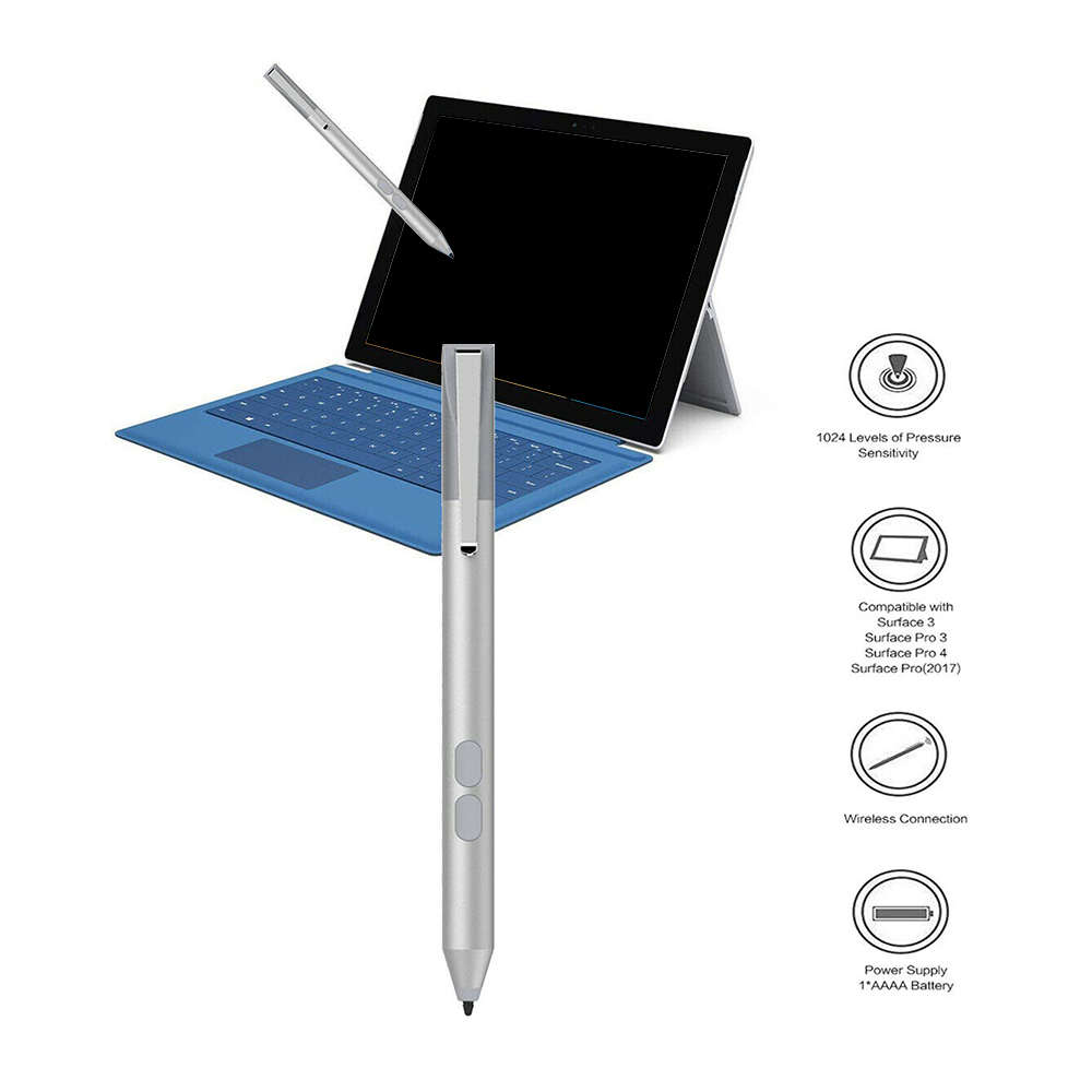 Stylus Pen For Microsoft Surface Pro 2017/Pro3/Pro4/Pro5/Pro6/laptop Book Aluminum Generic Pencil Tablets Touch Screen Pencil