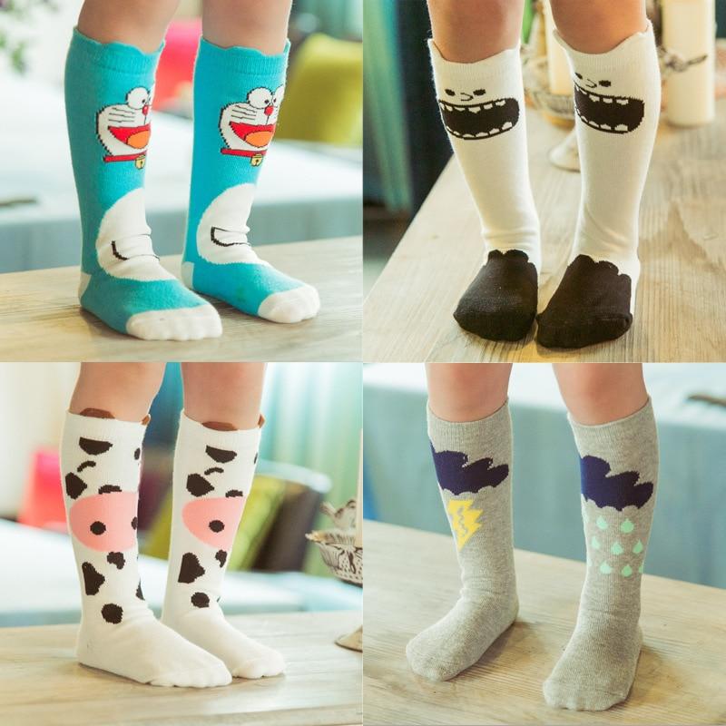 Baby Top Fashion Soft Cotton Cute Kids Sock Striped Geometric Animal ...