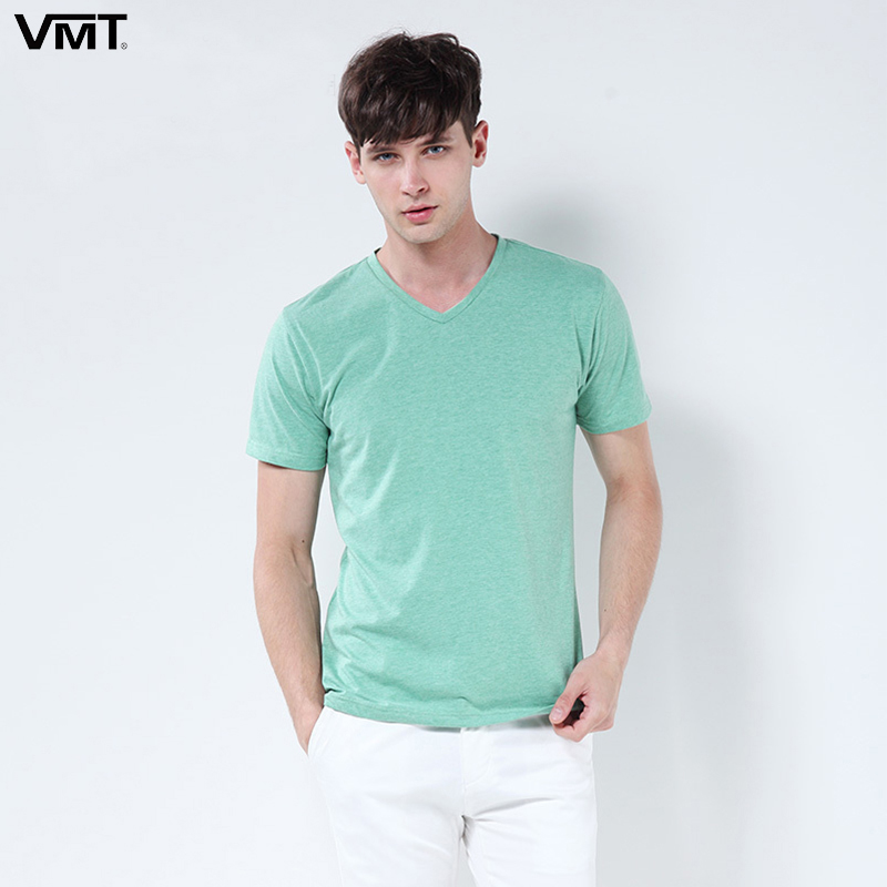 2017 summer Men T shirts V Neck Cotton T Shirt Hot Sale ...