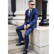 Custom Slim Fit Mens Business Suit Jacket Pants Tie Handsome Men s Suits Hot Sell Wedding