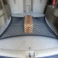 Coche del tronco de carga de red de malla 4 gancho de coche equipaje para Audi Q3 Q5 SQ5 Q7 A1 A3 A4 A4L A5 A6 A6L A7 A8 S5 S6 S7 TT TTS autos