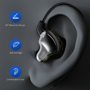 Image 5 - Headphones Earphone Hifi Stereo Deep Bass Earbuds with microphone Headset with Hybrid Driver for Running Jogging Walking