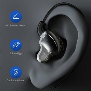 Image 5 - אוזניות אוזניות Hifi סטריאו העמוק בס אוזניות עם מיקרופון אוזניות עם היברידי נהג עבור ריצה ריצה הליכה