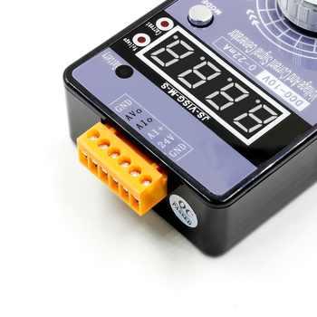 Portable 0-5V 0-10V 4-20mA Generator with LED Display High Precision Adjustable DC Current Voltage Signal Generator No Battery