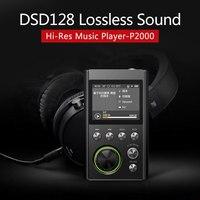 GOCOOL P2000 HIFI Lossless Xách Tay MP3 Music Player Cao âm thanh Độ Phân Giải với FM Radio Silicone Trường Hợp Hỗ Trợ 128 GB TF th