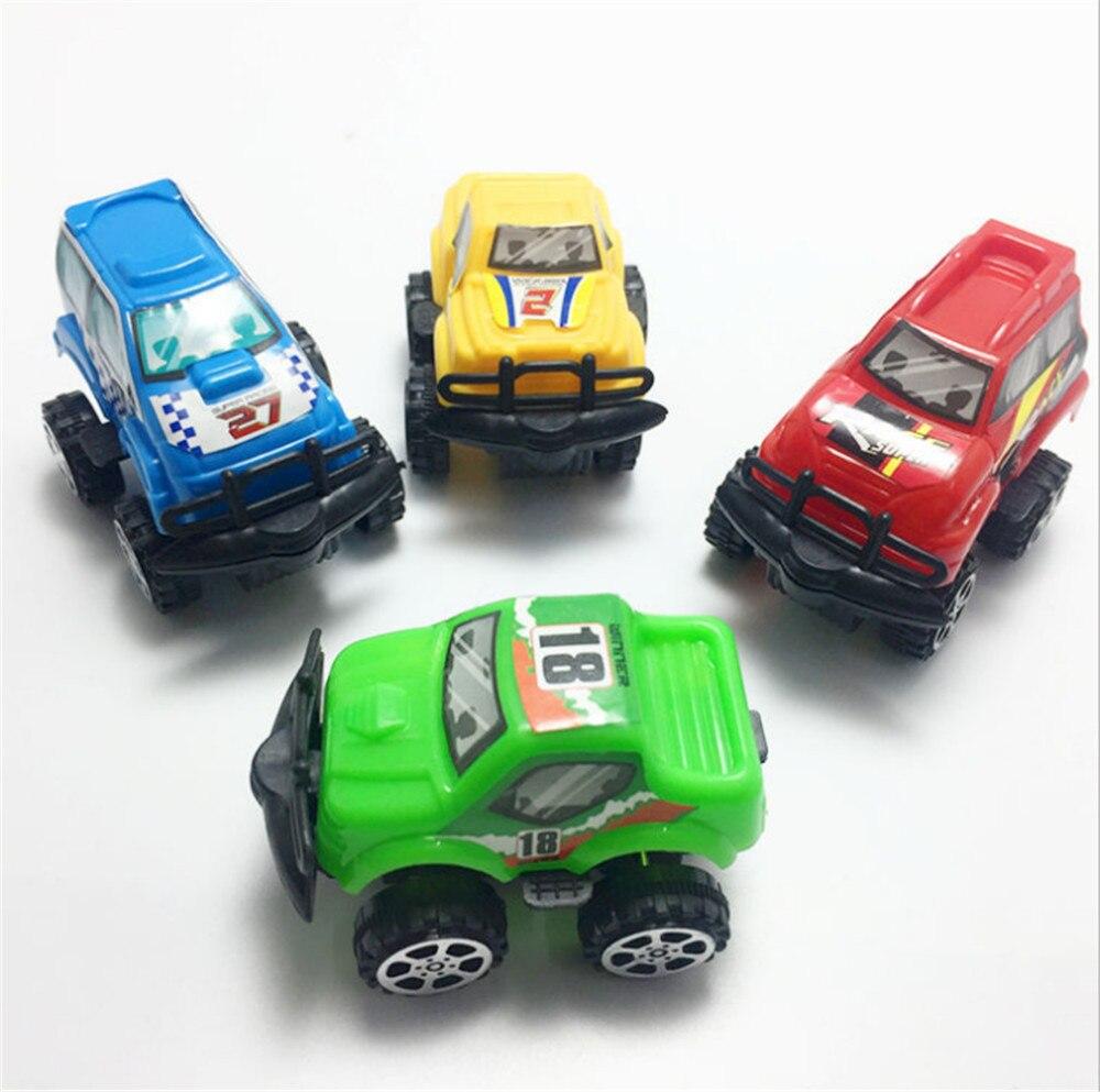 Taoqueen 4 Stil Nette Kunststoff Pull Back Autos Spielzeug Autos Für Kind Räder Mini Auto Modell Lustige Kinder Spielzeug Zufall Lieferung Alle Erfrischung