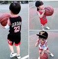 2016 новый летний детей спортивный костюм комплект одежды дети футболки + шорты 2 шт. устанавливает мальчики костюм одежда комплект