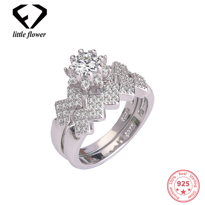 Wave Flower 925 Sliver Diamond Ring Set for Women Bizuteria Anillos De Glass Engagement Ring Band Gemstone Peridot Jewelry RingsWave Flower 925 Sliver Diamond Ring Set for Women Bizuteria Anillos De Glass Engagement Ring Band Gemstone Peridot Jewelry Rings