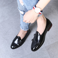 Autumn Men Microfiber Leather Loafers Luxury Brand Italian Design Wedding Comfortable Male Breathable Night Club Party Shoes