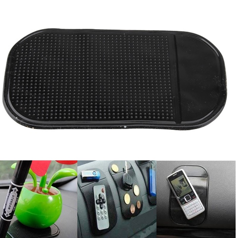 VODOOL 4Pcs Universal Car Dashboard Pad Anti Slip Mat For