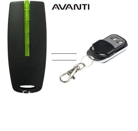 New arrival Avanti garage door opener ,Avanti replacement remote ,443MHZ rolling code цены