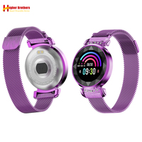 Smart Cicret Bracelet Wristwatch Call Reminder Sleep Heart Rate Blood Pressure Fitness Tracker Sport Lady Crystal Watch Band