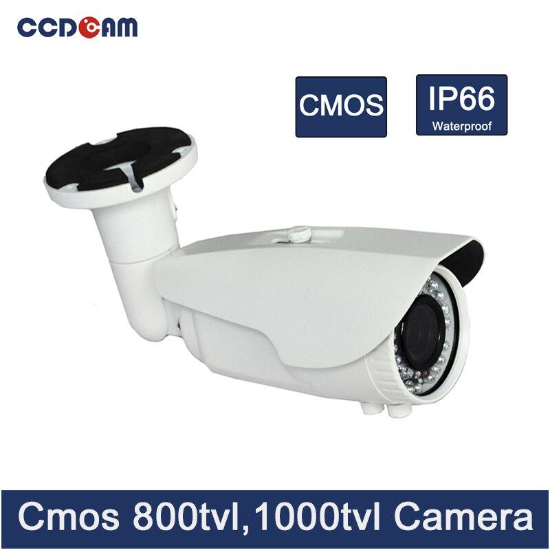 CCDCAM Attrezzatura Per la Sicurezza cctv cmos 800/1000 tvl fotocamera impermeabile con 40 m Visione NotturnaCCDCAM Attrezzatura Per la Sicurezza cctv cmos 800/1000 tvl fotocamera impermeabile con 40 m Visione Notturna