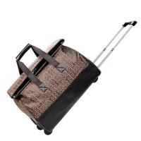 Новый Для женщин моды сумка большая Ёмкость Чемодан сумки и Для мужчин Дорожная сумка Винтаж тележка Чемодан сумка