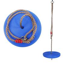 ESTINK Children Swing Disc Toy Seat Kids Swing Round Rope Swings Outdoor Playground Hanging Garden Play Entertainment Activity(China)