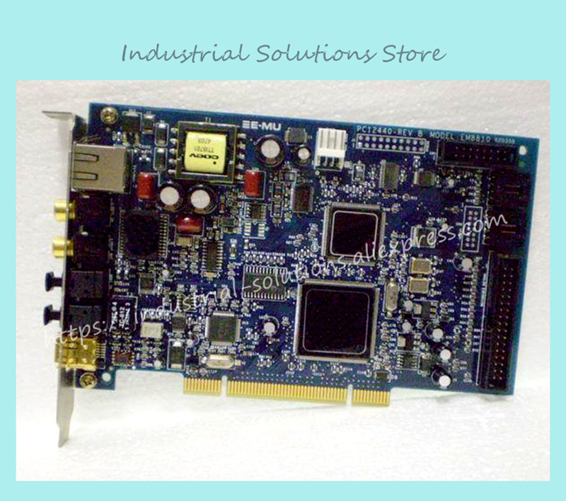 industrial motherboard 1212M E-MU1212M EM8810 master card +EM8820 card 100% tested perfect quality interface pci 2796c industrial motherboard 100% tested perfect quality
