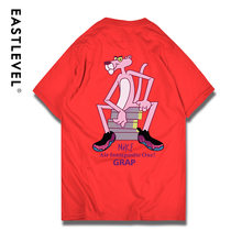 271229609ab Summer Fashion Cartoon Women Men T Shirt Anime Pink Panther Print Short  Sleeve Girls Boy lovers  clothes Casual Funny Tops