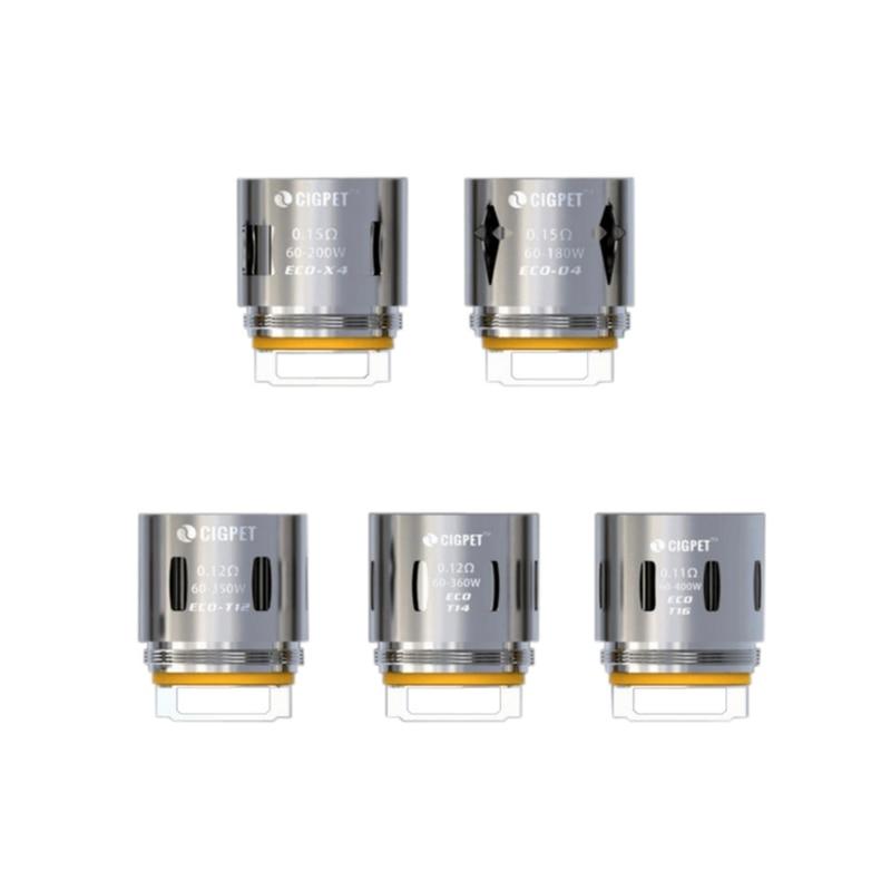 Original IJOY ECO T12 Coils Electronic Cigarette Aomizer Core 3pcs/lot ECO X4/Q4/T12/T16/T14 Coil for Cigpet ECO 12 Tank C01