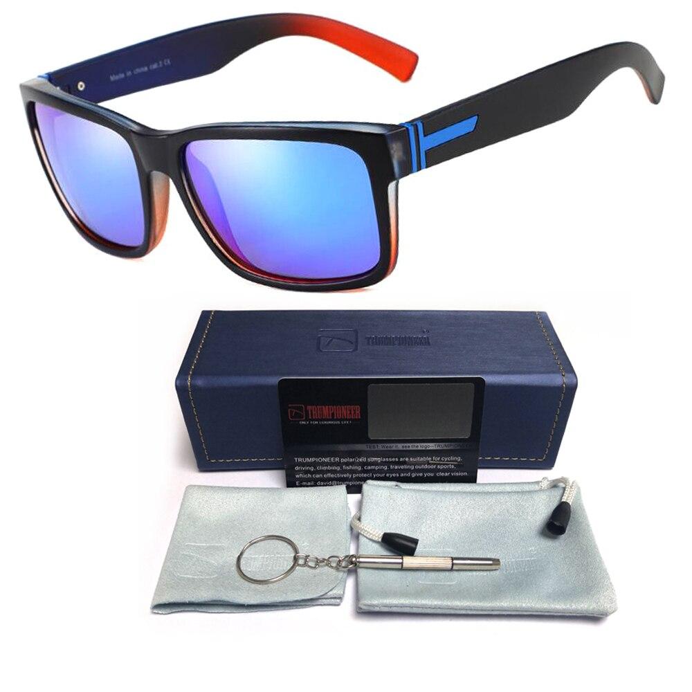 Vintage Mens Womens Polarized Sunglasses Retro Driving Mirrored Female Male Eyewear UV400 Fashion Eyecrafters