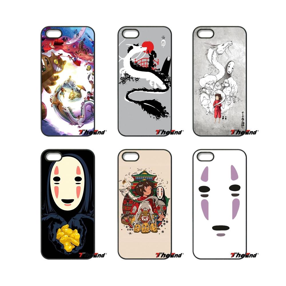 Japonais de Bande Dessinée No Face Homme Chihiro Cas Pour Samsung Galaxy Note 2 3 4