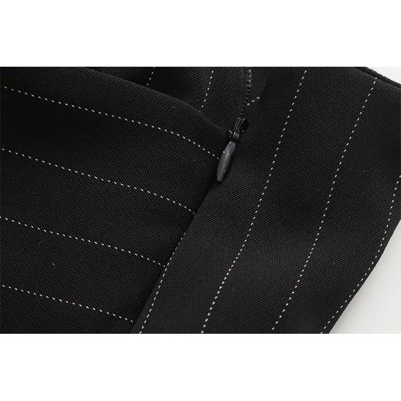 5e3417536 € 15.64 |Faldas Para Mujer 2017 de Rayas Verticales Falda Corta de Estilo  Europeo Irregular Superposición Elegante Señoras de la Oficina Camisa ...