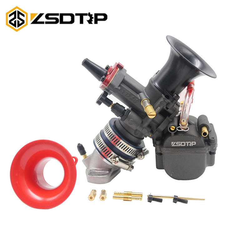 ZSDTRP YD-28mm 30mm Motorcycle Carburetor With Power Jet For ATV Buggy Quad Go Kart Dirt Bike Motorcycle Racing Psrts Scooter go-kart