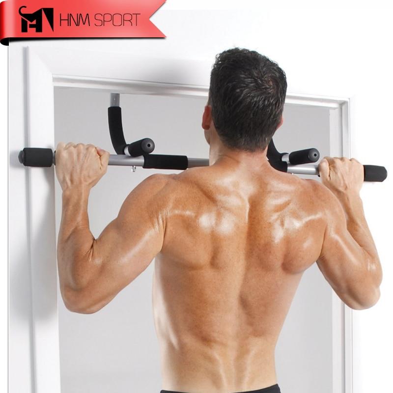 Total Upper Body Workout Bar Indoor Fitness Chin-up Equipments Portable Adjustable Exercise Pull Ups Door Horizontal Bar турник дверной torneo doorway pull up bar a 900
