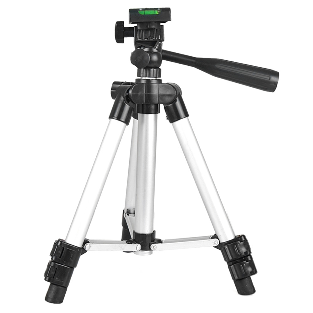 Camera Belt Strap Universal Camera Tripod Stand Lightweight Digital Camera Camcorder Tripod Portable Aluminum Stand for DLSR Camera Durable Color : Black