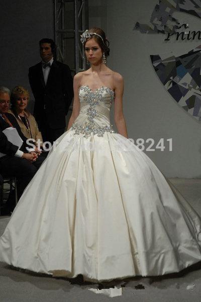 Online Get Cheap Pnina Tornai Ball Gown Wedding Dresses ...