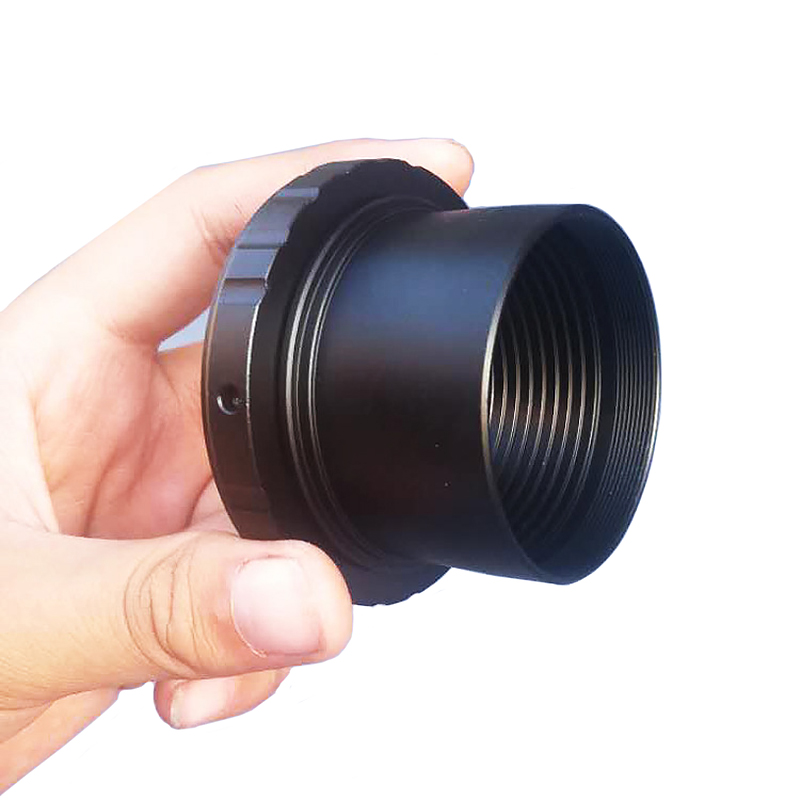 2inch Ultra Wide Adapter to M42 Thread Astronomical Telescope Photography Extending Tube Filter Thread + SLR/DSLR Camera T Rings