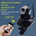 Câmera ip sem fio wifi home security vigilância 720 p monitor do bebê visão noturna cctv alarme pt gravação de cartão micro sd