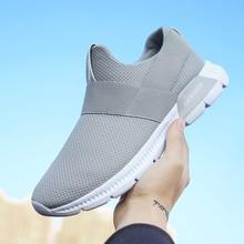 2018 Ultra Light Mens Sneakers Summer Mesh Breathable Sports Shoes Men Jogging Shoes for Adualts Zapatos Corrientes De Verano