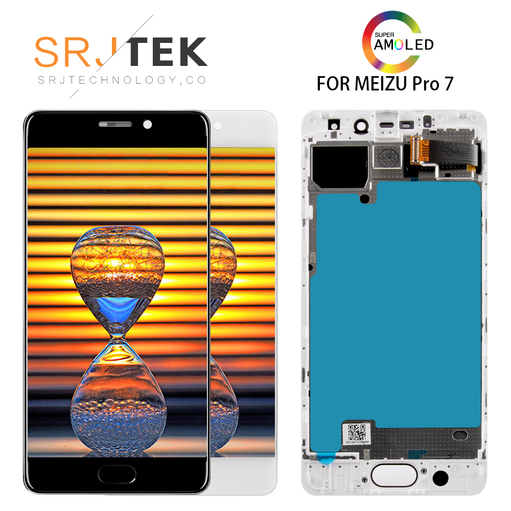 5.2 Super AMOLED Display For MEIZU Pro 7 LCD Touch Screen Pro7 Pro 7 LCD M792M M792H Digitizer Replacement Parts5.2 Super AMOLED Display For MEIZU Pro 7 LCD Touch Screen Pro7 Pro 7 LCD M792M M792H Digitizer Replacement Parts