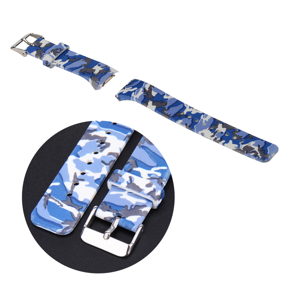 Luksuzni silikonski remen za 10 boja u stražnjem satu za Samsung - Pribor za satove - Foto 3