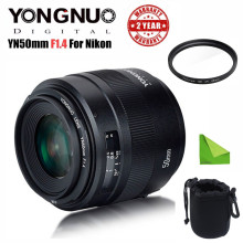 YONGNUO YN 50MM F1.4N E Standard Prime Lens AF/MF for Nikon D7500 D7200 D7100 D5600 D5500 D5300 D5200 D5100  D3400 D3300 etc voking vk430 i ttl lcd display blitz speedlite flash for nikon d5500 d3300 d7200 d3400 d5300 d500 d7500 d750 d5600 gift