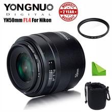 YONGNUO YN 50MM F1.4N E Standard Prime Lens AF/MF for Nikon D7500 D7200 D7100 D5600 D5500 D5300 D5200 D5100 D3400 D3300 etc